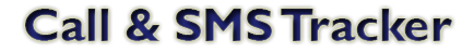 Call & SMS Tracker logo